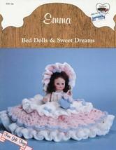 "Emma 13"" Bed Doll Outfit Dumplin Designs Crochet PATTERN/Instructions Le... - $2.67"