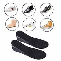 4-Layer Unisex Height High Increase Shoe Insoles Lifts for Men Women Shoe Pad Li image 6