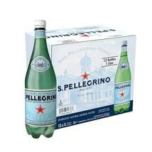 S.Pellegrino Sparkling Natural Mineral Water, 33.8 fl oz. 12 Pack