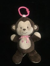 """Carters Child Of Mine Brown Musical Monkey Plays Twinkle 9"""" Plush Stuffed Animal - $13.98"""
