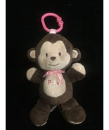 """Carters Child Of Mine Brown Musical Monkey Plays Twinkle 9"""" Plush Stuffe... - $13.98"""
