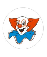 Bozo The Clown Vinyl Decal Sticker USA MADE Locker TOOL BOX Auto BUMPER ... - $1.45+