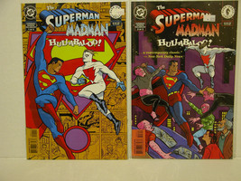 SUPERMAN AND MADMAN #1 AND #3  - FREE SHIPPING! - $13.10