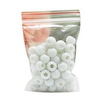 Koala Superstore 100pcs 6mm White Ceramic Beads DIY Necklace Bracelet Ro... - $11.05