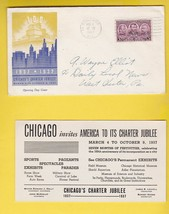 CHICAGO'S CHARTER JUBILEE OPENING DAY CHICAGO ILL MARCH 4 1937 - $1.98