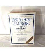 How to Host a Murder Mystery Game Grapes of Frath Vintage in Original Box - $17.81