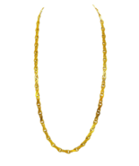 9ct Yellow Gold Necklace Serpentine Design Link - $1,131.00