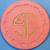 10¢ Vintage Casino Chip. EJC, Alta Loma, CA. 1954. Q40. - $9.50