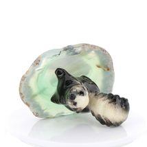 Hagen Renaker Miniature Skunk Baby on Base Stepping Stones Figurine #2739 image 3