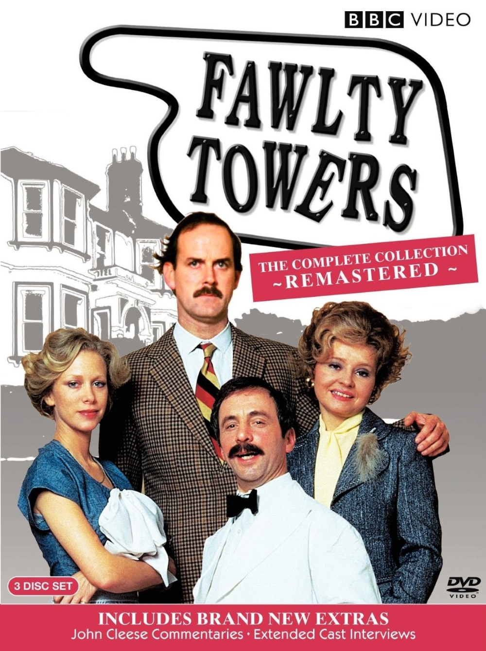 Fawlty towers the complete collection  dvd  2009  3 disc set  special edition