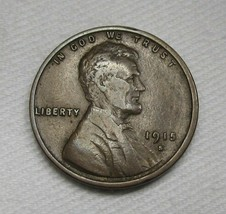 1915-S Lincoln Wheat Cent VF-CH VF Coin AF342 - $37.67