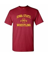 AS1104 - Iowa State Cyclones Arch Logo Wrestling T Shirt - 2X-Large - Ca... - $11.99