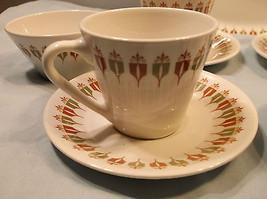 Vintage Restaurant Dinnerware Platter Cup Saucer Geometric Syracuse Gree... - $45.53 & Syracuse China Old Ivory Wayne Maroon and 20 similar items