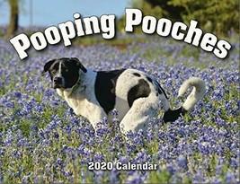2020 Pooping Pooches White Elephant Gag Gift Calendar - $28.04