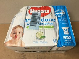 Huggies Refill Refreshing Baby Wipes One & Done Cucumber/Green Tea Count 552 - $46.07