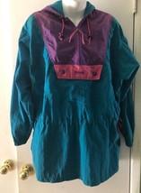 Columbia Retro Vintage Bloque Color para Dama Cazadora Small Ropa Deportiva Gym - $26.79