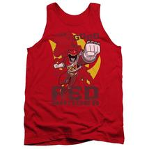 Power Rangers - Go Red Adult Tank Top Officially Licensed Apparel - $19.99+