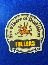 BEER MAT COASTER - TWO SIDED -  FULLERS CHISWICK BITTER    (FF255) - $5.49