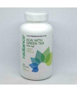 Radiance Acai With Green Tea 1500 mg 120 Softgels EXP 11/19 or later - $199,28 MXN