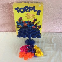 Topple Stacking Challenge Game 1992 Pressman No Dice Or Instructions - $3.34