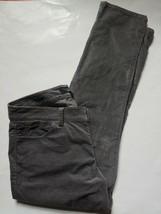 Talbots Signature Velvet Pants Womens Size 12 Petites Gray Straight Leg ... - $23.76