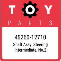 45260-12710 Toyota Shaft Assy Steering, New Genuine OEM Part - $134.04