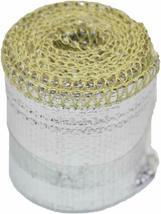 "Heat Sheath Aluminized Sleeving Heat Shield Protection Barrier 1"" x 36"" (3ft) image 9"