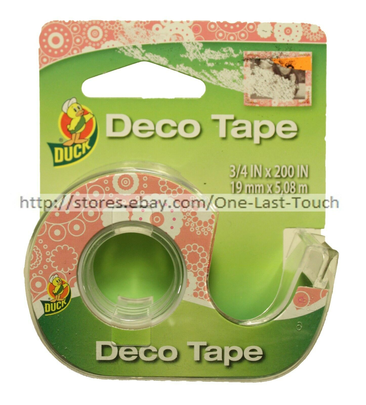 DUCK* Decorative DECO TAPE Handheld Dispenser GLOSSY FINISH New! *YOU CHOOSE* image 3
