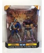 DC Universe Cyborg Superman & Mongul Super Enemies Figure Pack - Mattel ... - $53.22