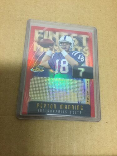 Peyton Manning 2005 Topps Finest Moments # FM7 Serial # 149/599