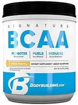 Bodybuilding Signature BCAA Powder | Essential | 30 Servings, Tropical P... - $74.21