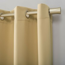 "Blackout Energy Efficient Grommet Single Curtain Panel - Yellow 40""x63"" - $14.84"
