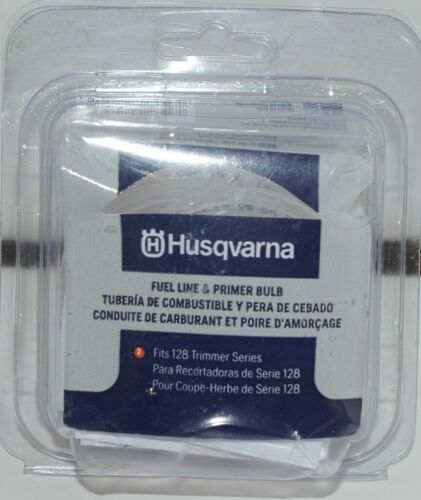 Husqvarna 596807301 Fuel Line Primer Bulb Clear Plastic Pkg 1