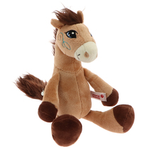 NICI Horse Moonlight Brown Stuffed Animal 10 inches 25cm - $26.00