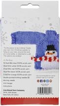 Lion Brand Santa's Little Sweaters Yarn Kit-Snowman - $26.93