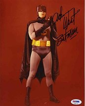 "Adam West ""Batman"" Signed 8x10 Photo Certified Authentic PSA/DNA COA - $247.49"