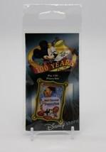 Disney Store 100 Years of Dreams Pin #20: Pinocchio Movie Poster 2001 Ne... - $24.63