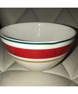 Kate Spade Arbor Village Red Rice Soup Bowl Set 3 ~NEW ~ - $69.99