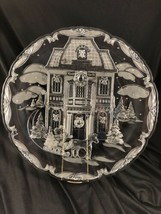 "Mikasa ""Winter Wonderland"" 15"" Platter Victorian House Horse Drawn Sleig... - $19.79"
