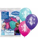 Frozen Princess Anna Elsa | 12 Latex Balloons birthday Favors Prizes dec... - $9.49