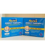 Aleve Direct Therapy Tens Device Refill Gel Pads Exp: 06/2019 Lot of 2 - $54.45
