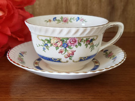 Johnson Brothers Eastbourne Flat Cup & Saucer - $16.95