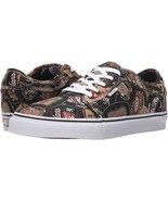NEW VANS CHUKKA LOW LABELS BLACK TAN SZ 25.5 CM SHOES size sz MENS 7 SKA... - $45.77