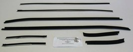 1971-1973 Ford Mustang Coupe Window Weatherstrip Kit 8 Pcs - $106.88