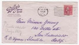 BILLY'S STYLE SHOP FRESNO CALIFORNIA JUN 23 1921 - $1.98