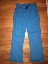 ! childrens place blue fleece comfy pajama bottoms pants pj jammies 6x -... - $4.46