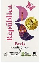 República Organic Nespresso Compatible Coffee Capsules: Paris, Certified Organic - $16.12