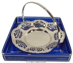 Dish Bowl Sweet Bon Bon BMF Silverplate West Germany 80s Vintage 13 cm Diameter - $15.65