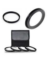 MACRO Close UP Lens Set + UV + Ring for Canon Powershot SX530 HS, SX540 HS, - $38.69
