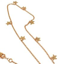 Long Necklace 70 cm, 925 Silver, Pendant Mermaid, Stars Marine, le Favole image 5